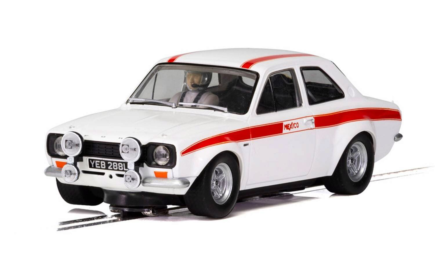 Scalextric C3934 Ford Escort Mk.I 50th Anniversary