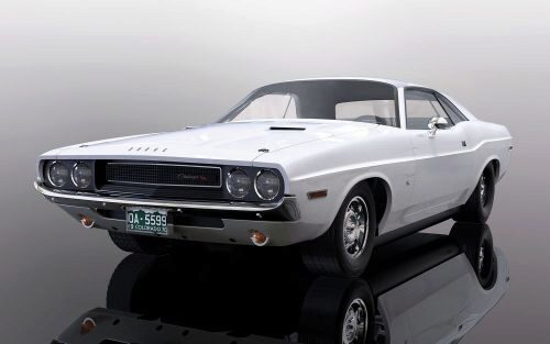 Scalextric C3935 Dodge Challenger 1970, white
