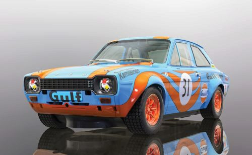 Scalextric C4013 Ford Escort Mk1 - Gulf Edition