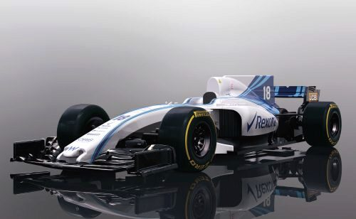 Scalextric C4021 2018 Williams FW41