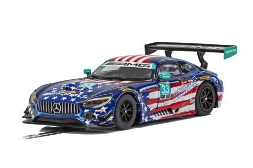Scalextric C4023 Mercedes AMG GT3 - Riley Motorsports Team