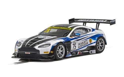 Scalextric C4027 Aston Martin GT3- British GT 18- F. Haigh, J. Adam