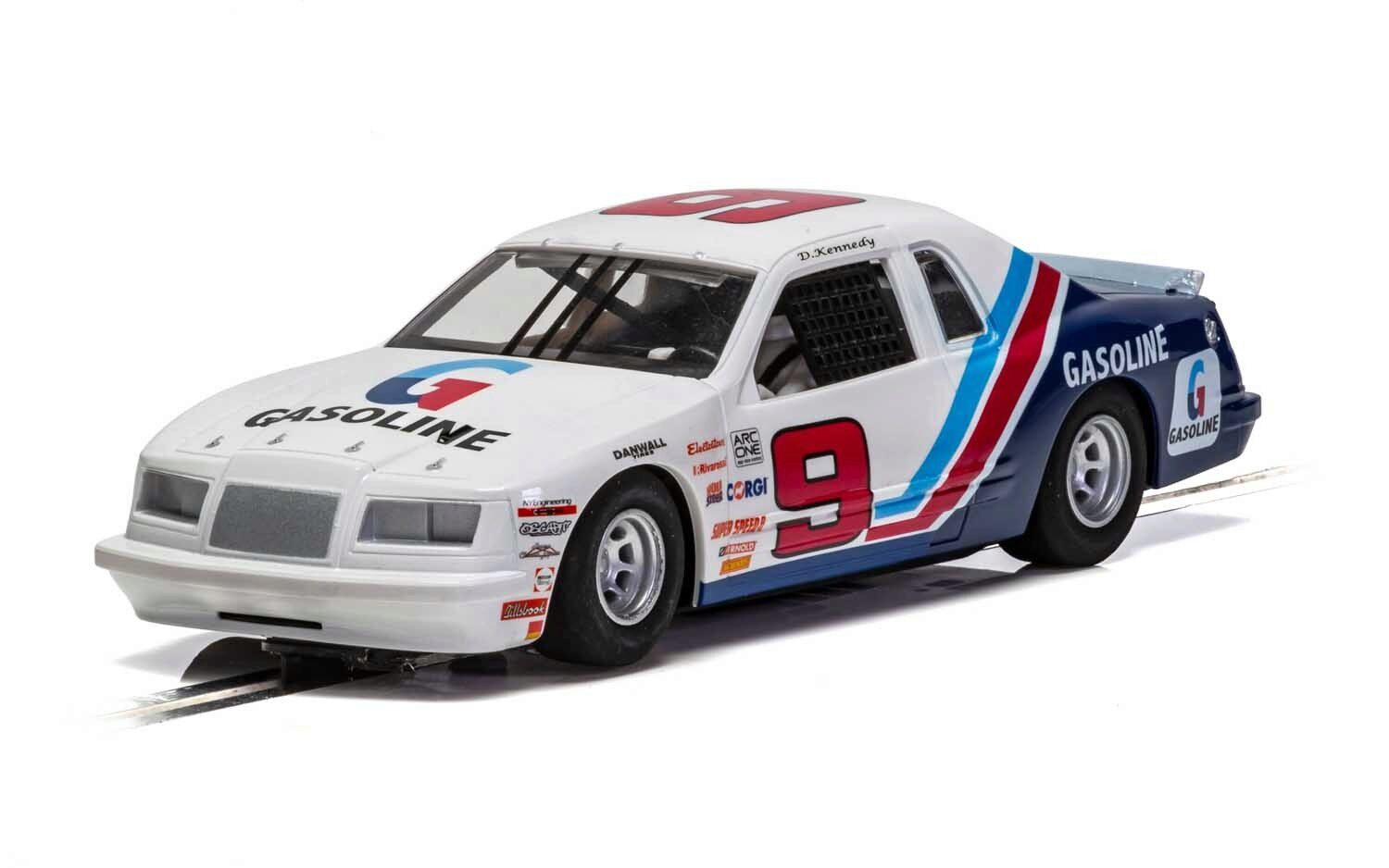 Scalextric C4035 Ford Thunderbird - Blue & White & Red