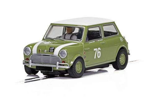 Scalextric C4059 Mini Cooper S - Goodwood 2018 - J. Adam, N. Swift