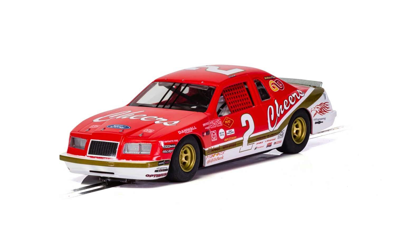 Scalextric C4067 Ford Thunderbird - Red & White