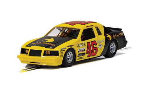 Scalextric C4088 Ford Thunderbird - Yellow & Black No.46