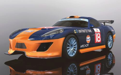 Scalextric C4091 Team GT Gulf