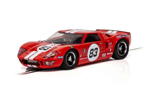 Scalextric C4152 Ford GT40 - Red No.83
