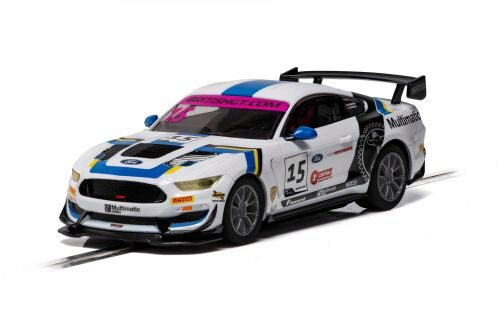 Scalextric C4173 Ford Mustang GT4 British GT  19 Multim.Motorsports