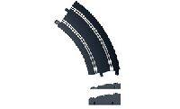 Scalextric C8297 Banked Curve R3 45°