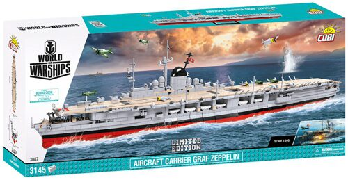 Cobi 3087 WoWS Graf Zeppelin / 3145 pcs. Limited