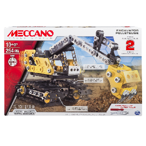 Meccano 6027036 Construction Digger 2 in 1 254-teilig (16301)