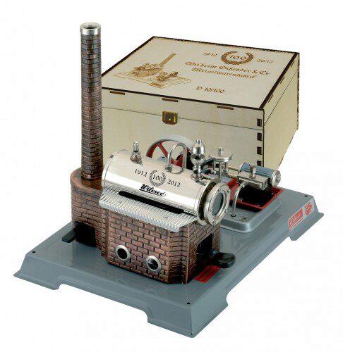 Wilesco 10850 Waschfrau Uhrwerk Figuren Blechspielzeug