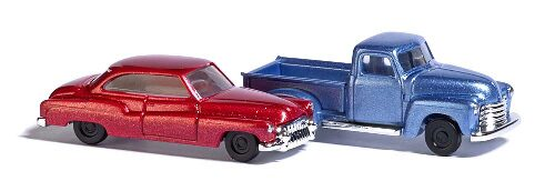 Busch 8349 Chevy Pick up & Buick N