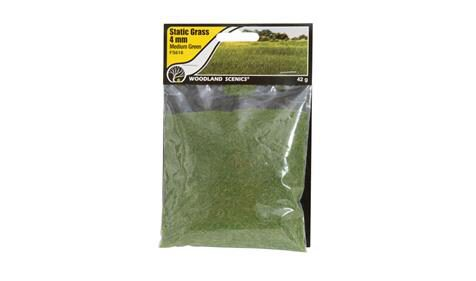 Woodland FS618 Static Grass Medium Green 4mm